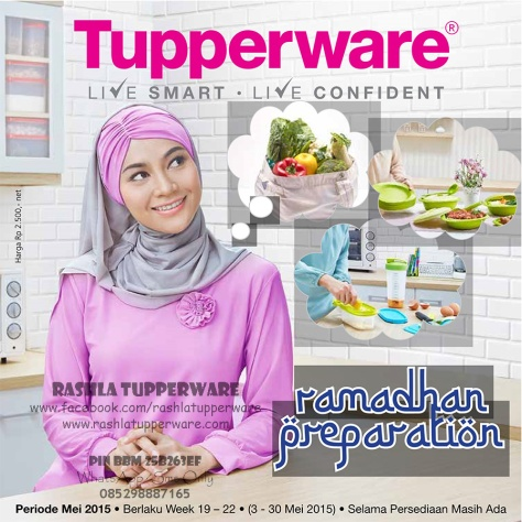Brosur Katalog Promo Tupperware Mei 2015 Terbaru 01
