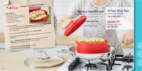 Brosur Katalog Promo Tupperware Mei 2015 Terbaru 11W
