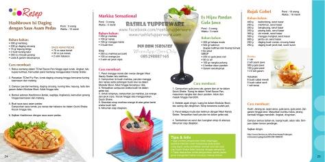 Brosur Katalog Promo Tupperware Mei 2015 Terbaru 13W