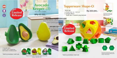 Brosur Katalog Promo Tupperware Mei 2015 Terbaru 20W