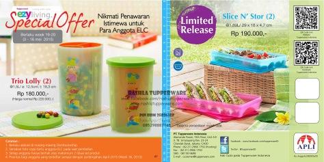 Brosur Katalog Promo Tupperware Mei 2015 Terbaru 21W