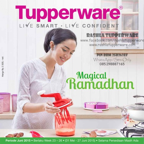 Katalog Promo Tupperware Bulan Juni 2015 00W