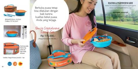 Katalog Promo Tupperware Bulan Juni 2015 13W