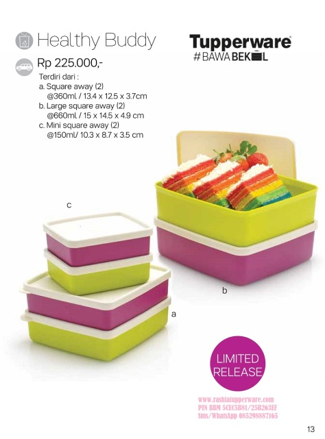 w Brosur 2016 03 Maret Katalog Promo Tupperware.page13