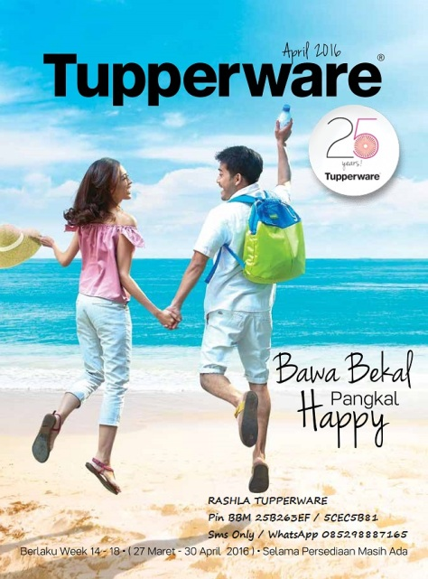wBrosur 2016 04 April Katalog Promo Tupperware.page01