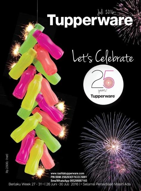 wBrosur 2016 07 Juli Katalog Promo Tupperware.page01