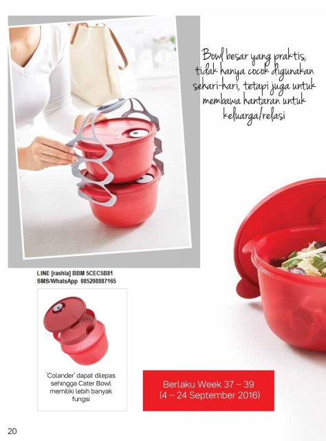 w201609 Katalog Promo Tupperware September 2016.page20
